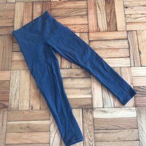 Iululemon 3/4 leggings wunder under cotton
